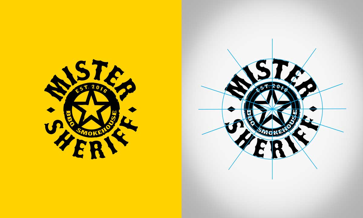 logotipo contruccion mister sheriff